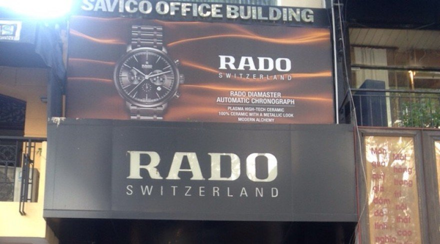 Showroom Rado, TP. HCM