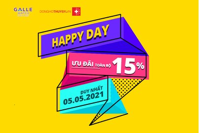 HAPPY DAY 05.05 - SALE OFF ALL ITEMS