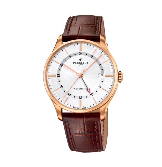 Đồng hồ Perrelet Weekends GMT A1305/1